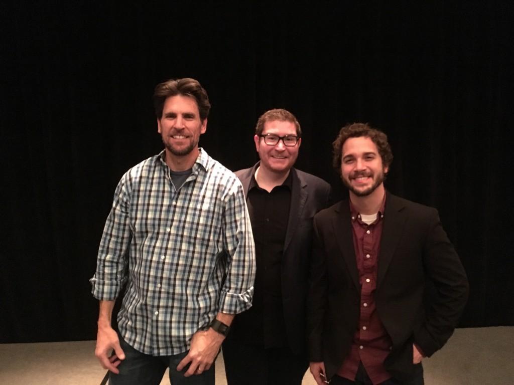 Don, Jim, and myself