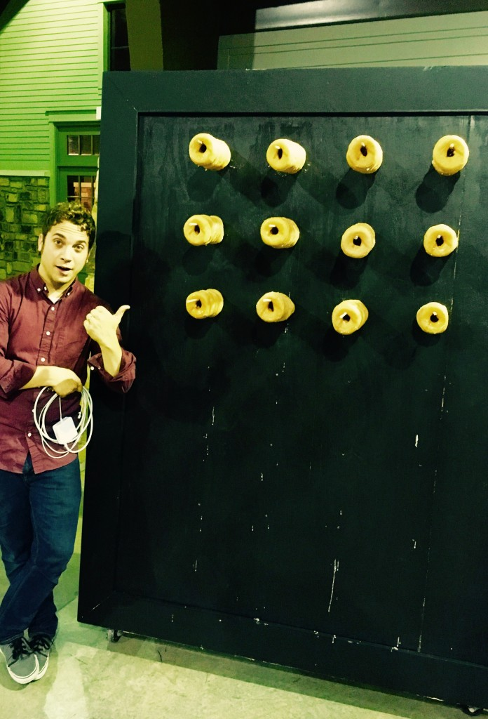 What's a Donut Wall you ask?  Turns out it's exactly what it sounds like.