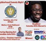 Neighborhood Comedy Night!- Winnabow, NC